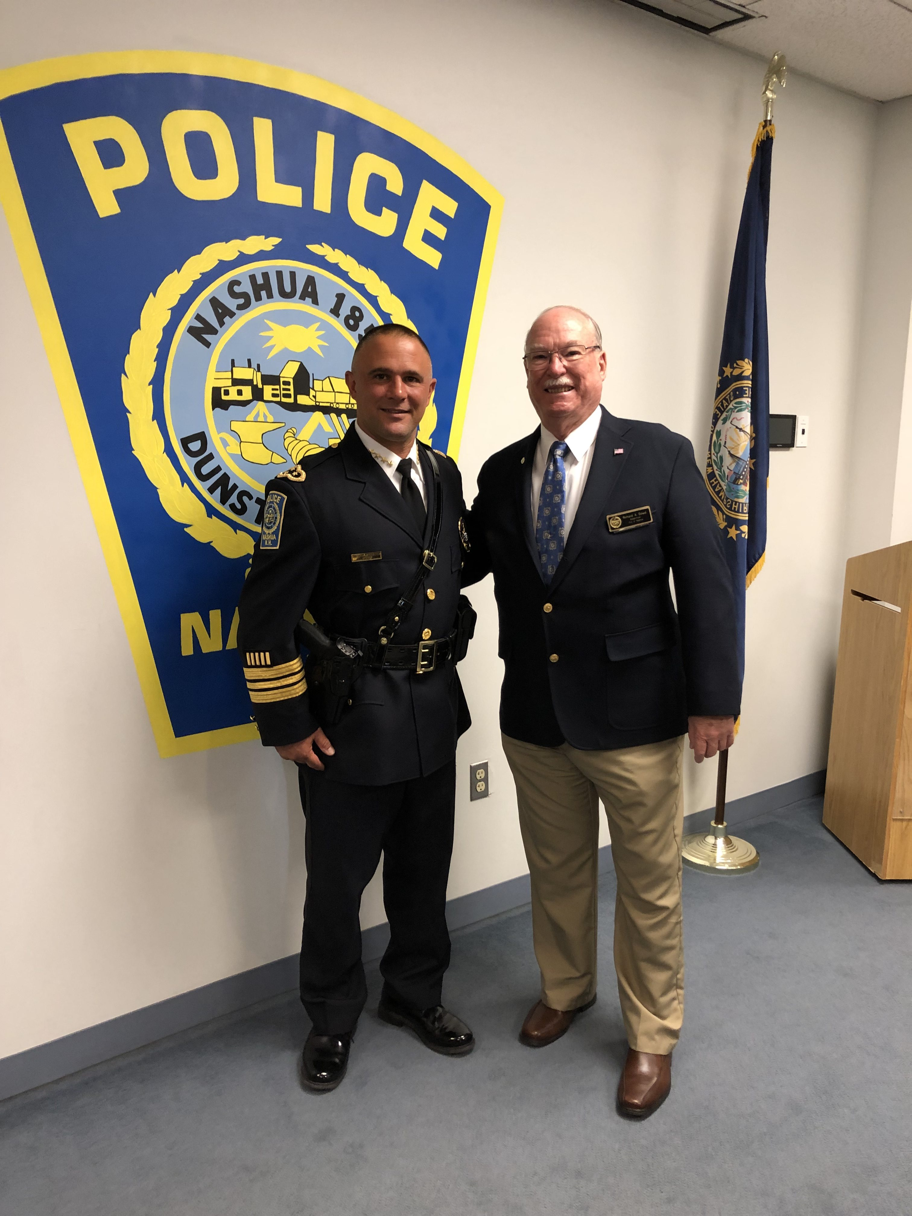 Nashua's New Chief Of Police – Chief Mike Carignan