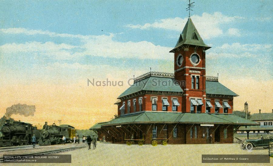 Railroads May Return To Nashua